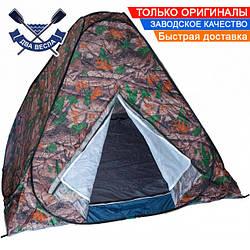 Зимняя палатка для рыбалки Discovery 2-местная автомат 140х200х200 см 2,4кг всесезонная с антимоскитной сеткой