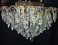 Шикарная современная хрустальная люстра на 8 ламп, фото 1