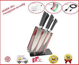 Набор ножей 6 предметов на подставке ZP 001