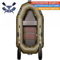Надувная лодка Bark B-220C с реечным настилом одноместная