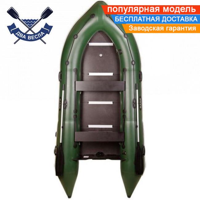 Килевая лодка Bark BN-310S с жестким дном трехместная надувная лодка ПВХ