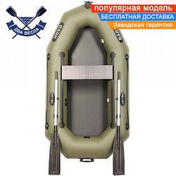Надувная лодка Bark B-220D со сдвижным сиденьем одноместная без настила