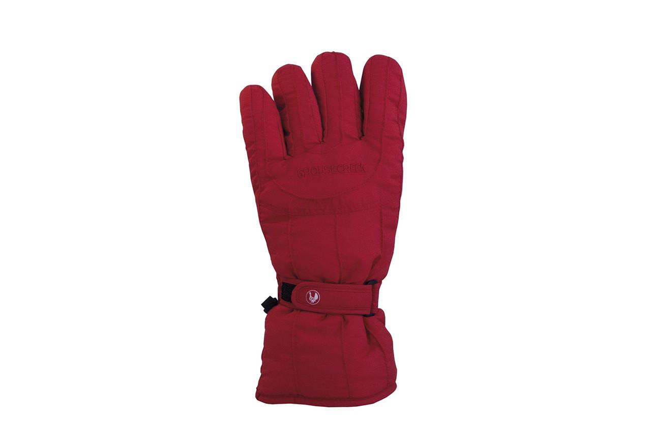 Гірськолижні рукавички Grouse Creek Everest червоні | розмір 4,6