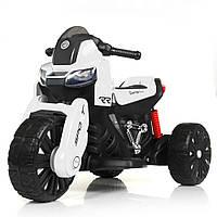 Детский электромобиль мотоцикл трицикл Bambi M 4193EL-1 BMW белый