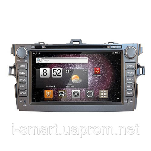 Android 2.3 Smart Car DVD Player CANBus Digital TV GPS 8 Inch for Toyota Corolla