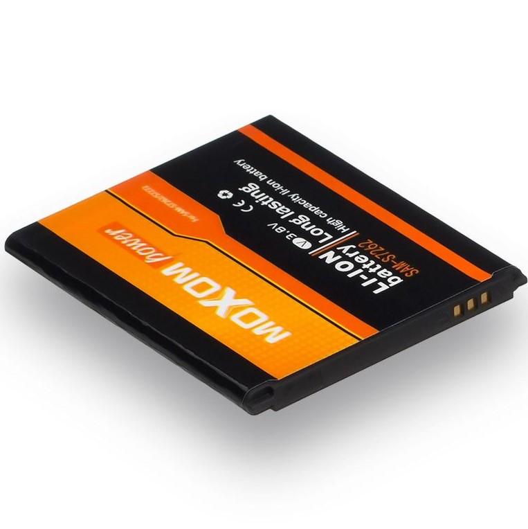 Аккумулятор для Samsung S7262 Galaxy Star Plus Duos B100AE (MOXOM) 1500мА/ч (батарея, батарейка)