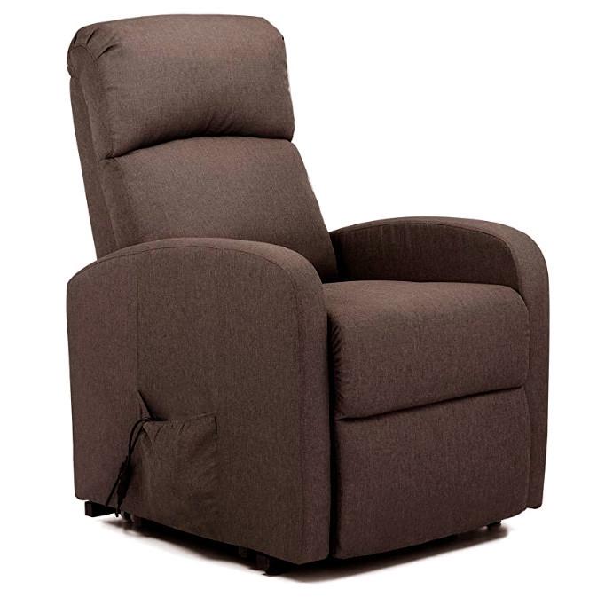 Подъёмное кресло с одним моторами, LANTA (коричневое)