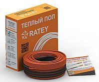 RATEY RD2 1100 Вт (6,0-7,4 м2) двухжильный греющий кабель в стяжку, фото 1