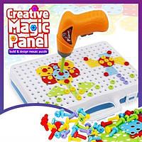 Конструктор мозаика Creative Magic Panel для детей детский