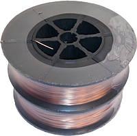 Проволока сварочная омедненная Запорожье 0,8 мм 1 кг.