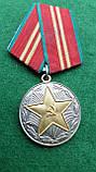 Медаль 15 лет Безупречной службы МООП Грузинской ССР, фото 3