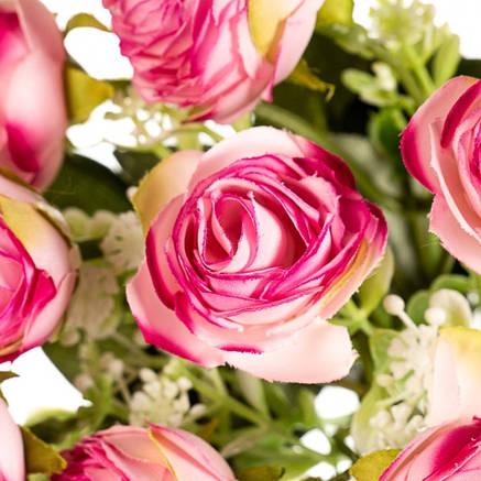 """Искусственный букет """"Розовая роза"""", фото 2"""