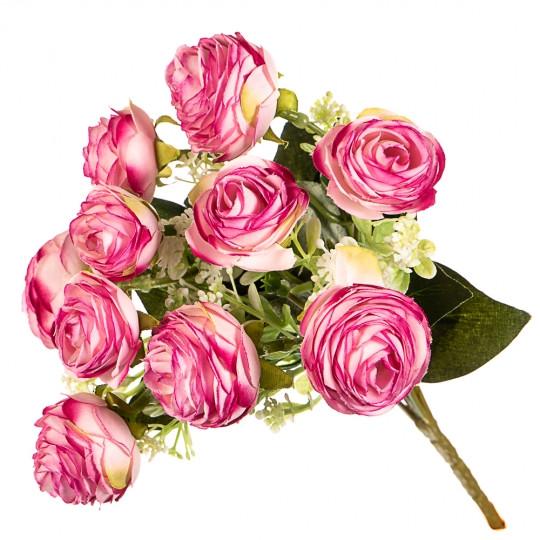 """Искусственный букет """"Розовая роза"""""""