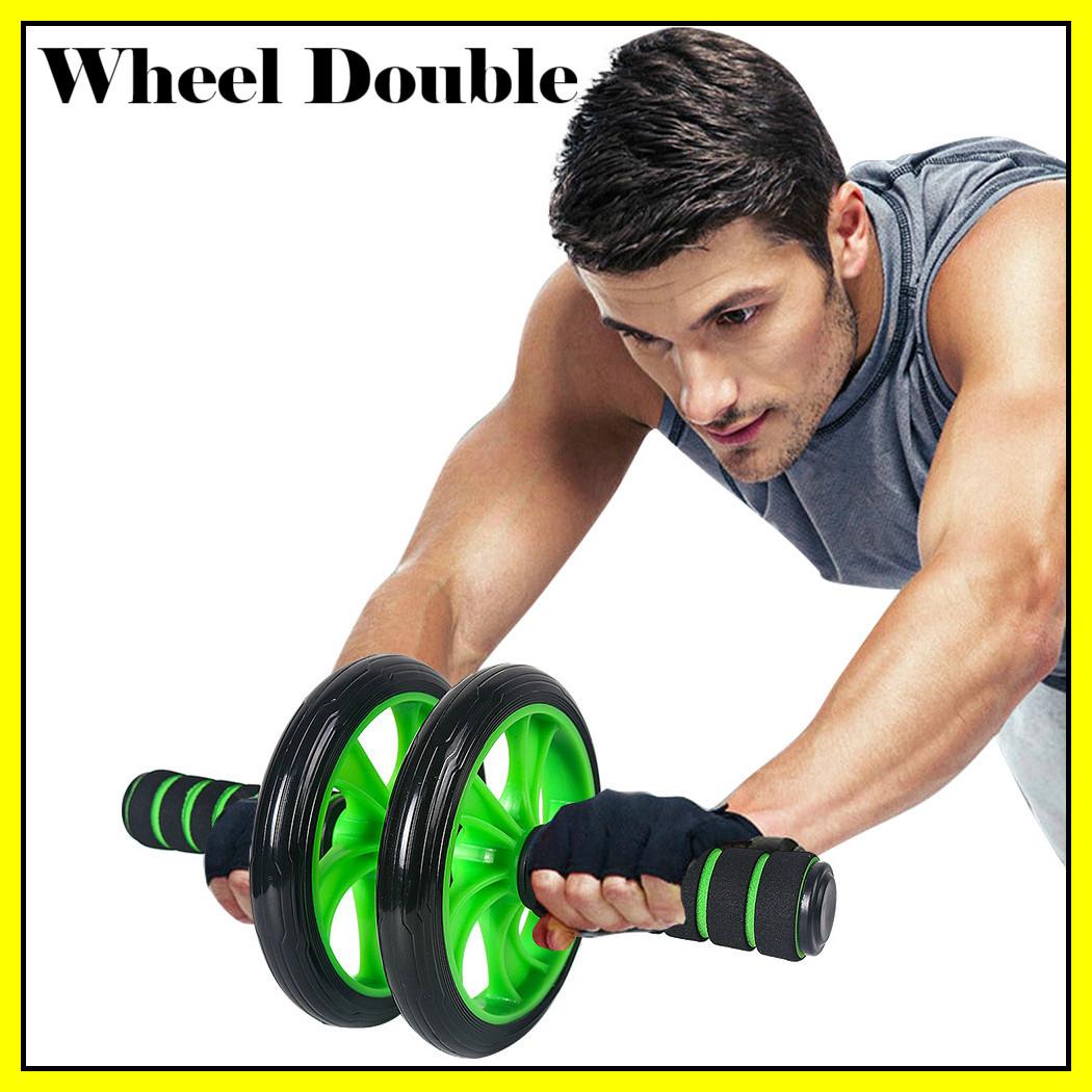 Колесо для преса подвійне   Фітнес колесо Double wheel   Ролик для преса   Йога колесо