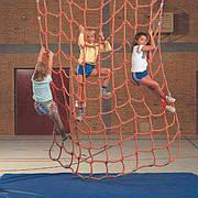 Сетка гладиаторская лазание лазить взбираться подниматься для лазания игровой элемент сетка веревочная Канатная сетка производство
