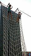 Гладиаторская подниматься для лазания сетка веревочная Канатная сетка производство