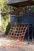 Сетка гладиаторская взбираться игровой элемент сетка веревочная