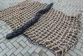 Сетка гладиаторская подниматься для лазания игровой элемент сетка веревочная Канатная сетка производство