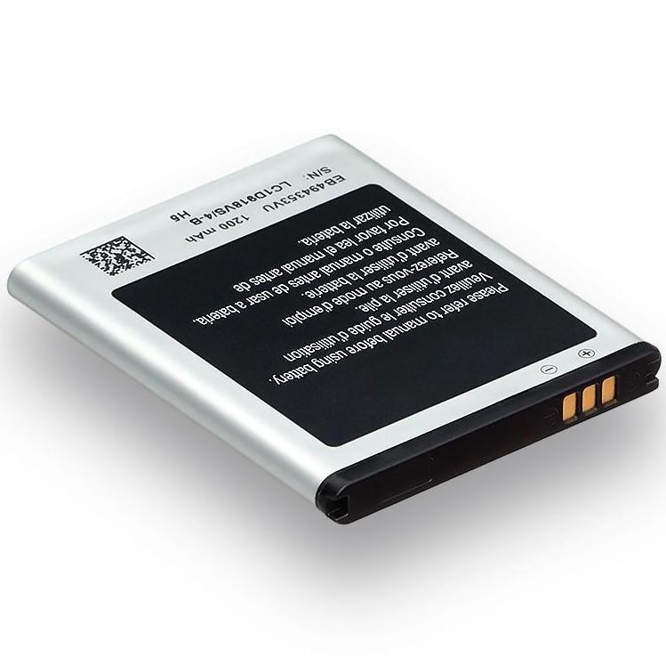 Акумулятор для Samsung S5250 Wave 525 EB494353VU (AAAA) 1200мА/год (акумулятор, батарея)