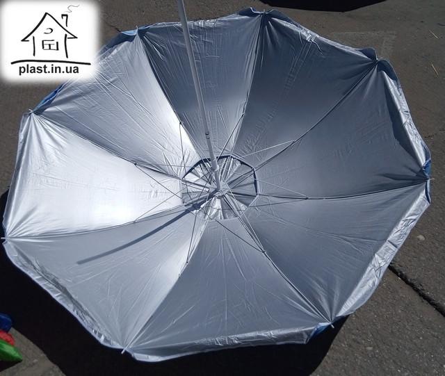Зонт пляжный 2 м с ветровым клапаном