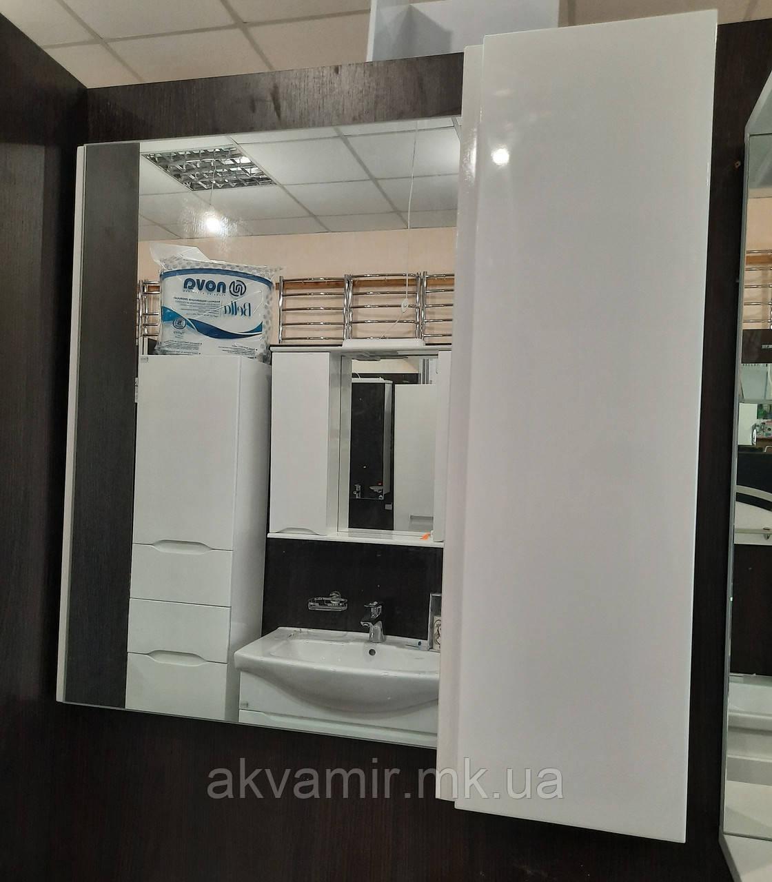 Дзеркало у ванну Профіль Ніколь 50 см без підсвічування - універсальний (правий/лівий)