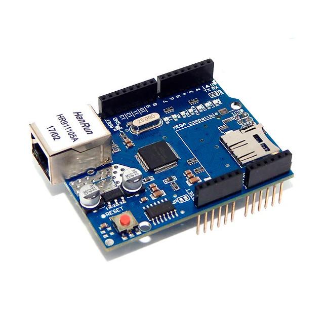 Сетевой интернет модуль Arduino(Ethernet Shield W5100 UNo R3)