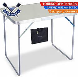 Облегченный складной стол Lite до 30 кг столешница 60х50х70 см, алюминий, ламинированный ДВП, чехол