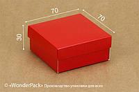 """Коробка. Модель №0018 """"Для бижутерии / ювелирки"""". Код М0018-о21. """"Красная"""" (глянцевая)"""