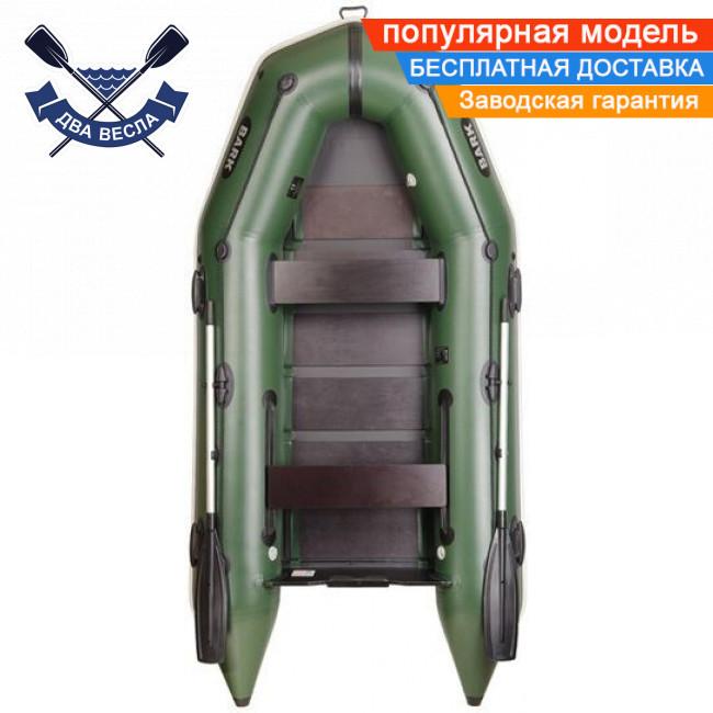 Моторная лодка Bark BT-310 с реечным настилом трехместная надувная лодка ПВХ