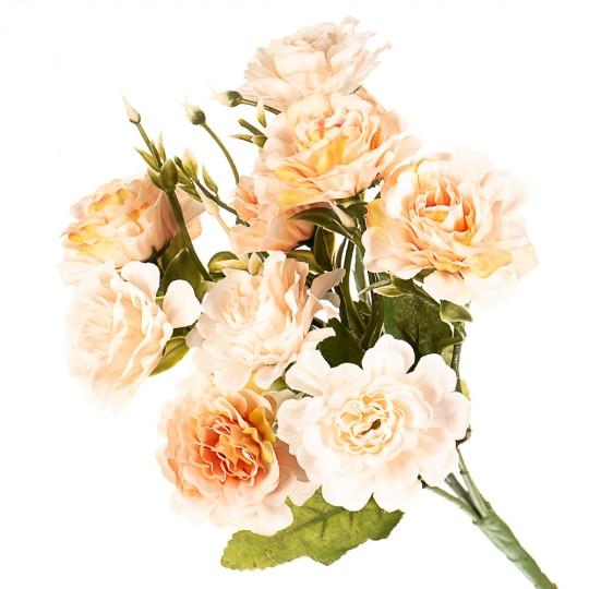 """Искусственный букет """"Пионовидные розы"""""""