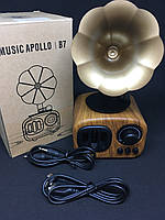 Портативна ретро-Bluetooth колонка Apollo AS 90