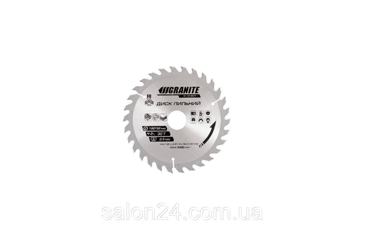 Диск пильный Granite - 250 x 60T x 32 мм (32-30+32-25,4)