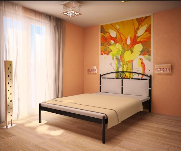 Кровать Метакам Inga . Кровать Инга . Металлическая кровать. Метакамм