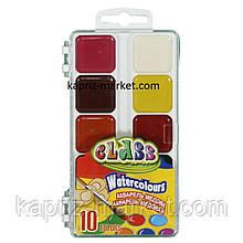 Фарби акварельні медові 10 кольорів