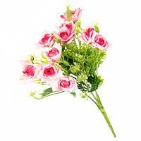 """Искуственный букет """"Мелкая розовая роза """""""