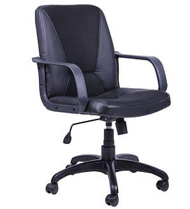 Кресло Лига Пластик Неаполь N-20 вставка Сетка черная