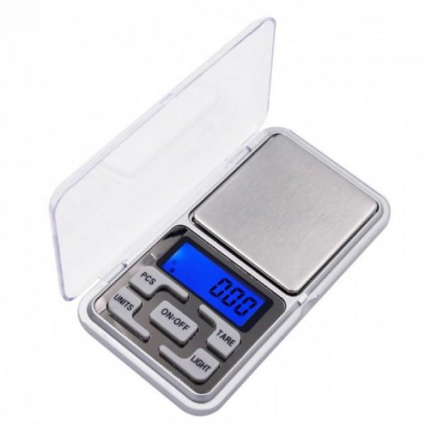 Кишенькові ювелірні електронні ваги 0,1-500 гр