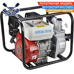 Мотопомпа VORSKLA ПМЗ 6600 бензиновая четырехтактная, 5,5 л.с., 66 куб.м./ч