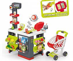Игрушечный супермаркет с электронной кассой Smoby 350213