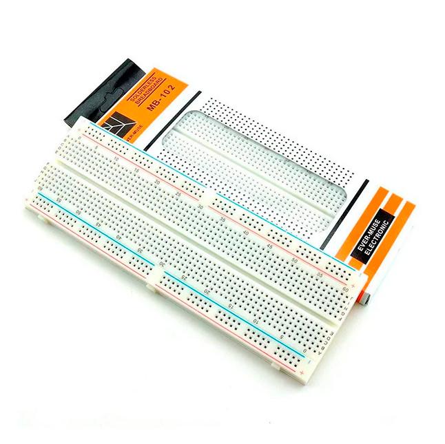 Макетная плата 830 точек для Arduino MB102 (Качество)