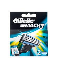 Сменные картриджи для бритья Gillette Mach 3 (2 шт)
