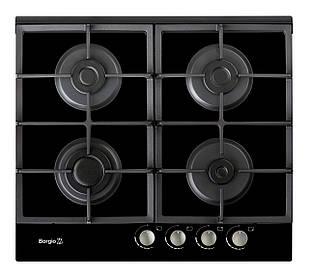 Варочная поверхность газовая BORGIO 6270-17 (Black Glass)