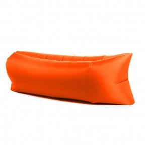 Надувной лежак-мешок Lamzac (Ламзак) 1.9м оранжевый