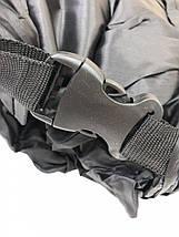 Надувной лежак-мешок Lamzac (Ламзак) 1.9м черный, фото 3