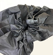 Надувной лежак-мешок Lamzac (Ламзак) 1.9м черный, фото 2