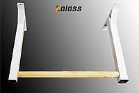 Турнік з дерев'яною поперечиною білий від TM Koloss-sport, фото 1