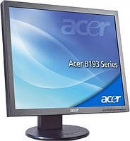 "Монитор 19"" Acer B193 (1280x1024px / TN / DVI / VGA / Class B) черный - Б/У"