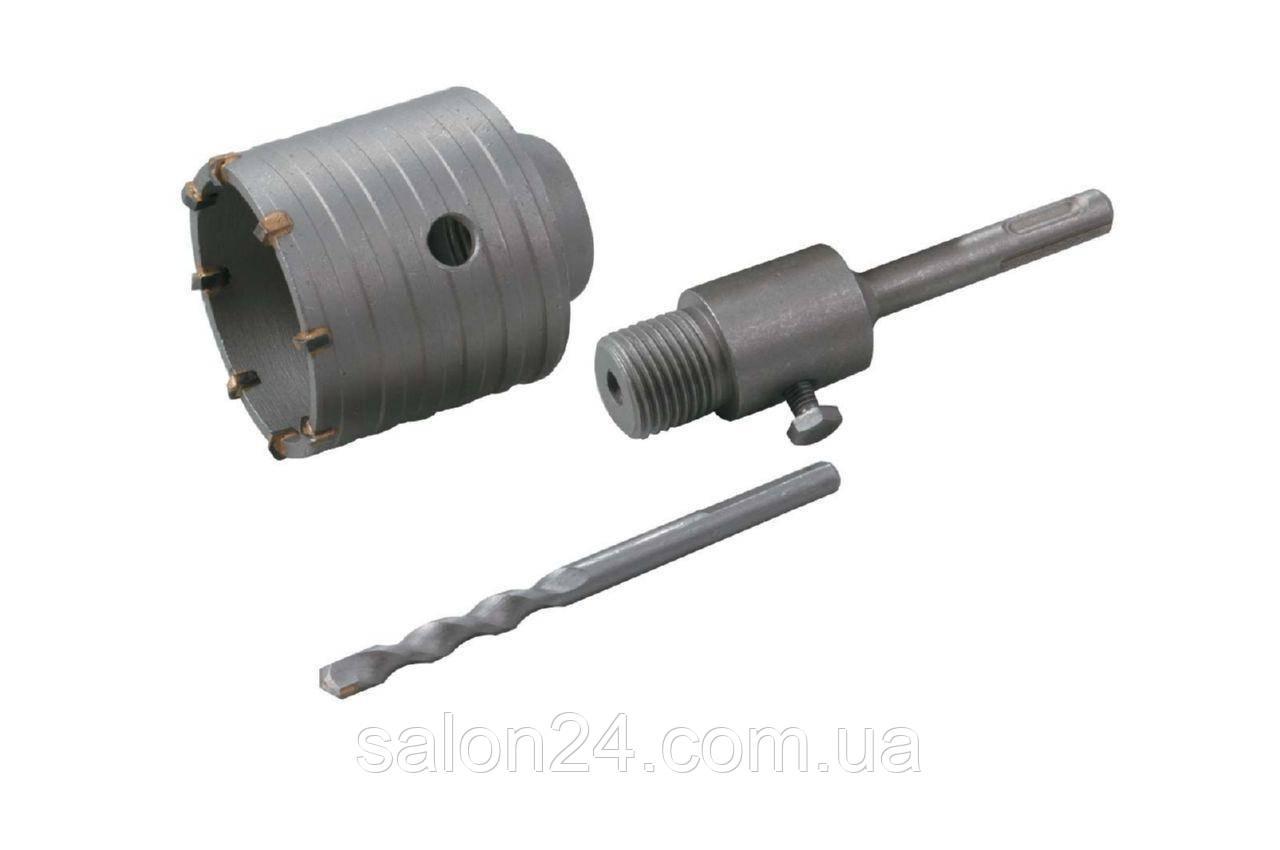 Сверло корончатое по бетону Granite - 80 мм с переходником SDS+