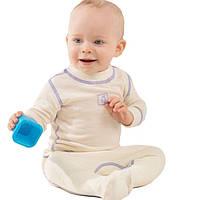 Термоползунки детские NORVEG Soft (размер 56-62, натур), фото 1
