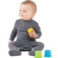 Термоползунки детские NORVEG Soft (размер 56-62, серый), фото 1